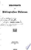 Bibliografía de bibliografías chilenas