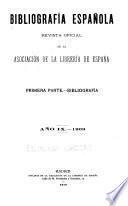Bibliografía española