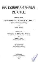 Bibliografía general de Chile