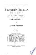 Bibliografía mexicana del siglo XVIII