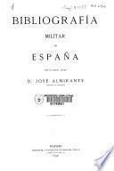 Bibliografía militar de España