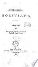 Biblioteca boliviana