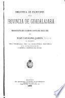 Biblioteca de escritores de la provincia de Guadalajara