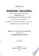 Biblioteca de Escritores Granadinos desde la civilizacion árabe hasta nuestros dias
