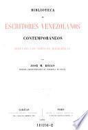 Biblioteca de escritores venezolanos contemporáneos