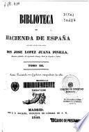 Biblioteca de Hacienda de España