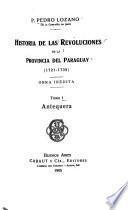 Biblioteca de la Junta de Historia y Numisma tica Americana: Revoluciones de la Provincia del Paraguay