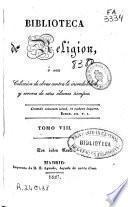 Biblioteca de religión: (1827. 332 p.)