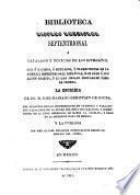 Biblioteca hispano-americana septentrional o catálogo y noticias de los literatos que o nacidos o educados, o florecientes en la América Septentrional Española, han dado a luz algún escrito, o lo han dejado preparado para la Prensa