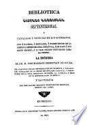 Biblioteca hispano americana setentrional--Adiciones y correcciones que á su fallecimiento dejó manuscritas José Fernando Ramírez