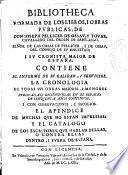 Bibliotheca formada de los libros i obras publicas de don Ioseph Pellicer de Ossau y Touar ...
