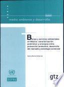 Bienes y servicios ambientales en México