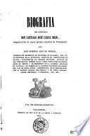 Biografía del licenciado Don Santiago José García Mazo, etc