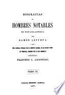 Biografías de hombres notables de hispanoamérica