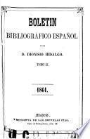 Boletín bibliográfico español