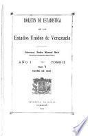 Boletin de estadística de los Estados Unidos de Venezuela