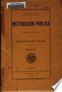 Boletin de instrucción pública ...