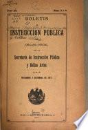 Boletín de instrucción pública