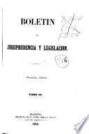 Boletín de jurisprudencia y legislación