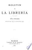 Boletín de la librería