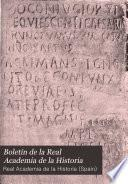 Boletín de la Real Academia de la Historia