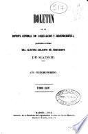 Boletín de la Revista general de legislación y jurisprudencia : periódico Oficial del Ilustre Colegio de Abogados de de Madrid