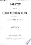 Boletín de la Sociedad Arqueológica Luliana