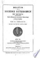 Boletin de la Sociedad astronómica de México