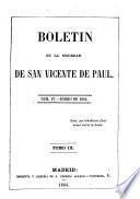 Boletín de la Sociedad de San Vicente de Paul