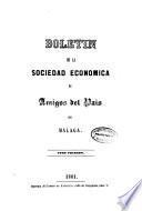 Boletín de la Sociedad Económica de Amigos del País de Málaga