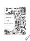 Boletín de la Sociedad española de excursiones