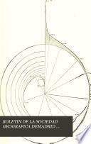 BOLETIN DE LA SOCIEDAD GEOGRAFICA DEMADRID TOMO XVI - PRIMER SEMESTRE DE 1884