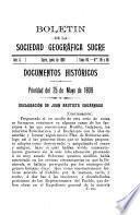 Boletín de la Sociedad Geográfica Sucre