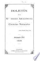 Boletín de la Sociedad Ibérica de Ciencias Naturales
