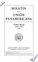 Boletín de la Unión Panamericana