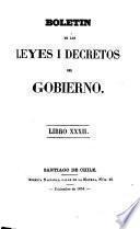 Boletín de las leyes i decretos del Gobierno