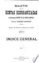 Boletín de las rentas reorganizadas