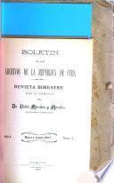 Boletín de los Archivos de la República de Cuba