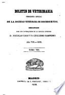 Boletín de veterinaria