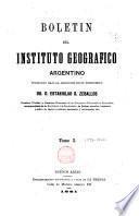 Boletín del Instituto Geográfico Argentino