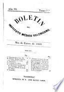 Boletin del Instituto Médico Valenciano