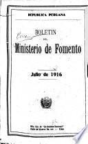 Boletín del Ministerio de Fomento