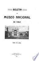 Boletín del Museo Nacional de Historia Natural