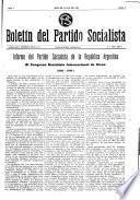 Boletin del Partido Socialista