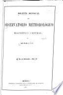 Boletín del Servicio Meteorológico Mexicano