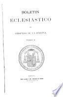 Boletin eclesiasico del obispado de la Habana