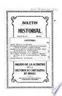 Boletín historial