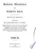 Boletín histórico de Puerto Rico
