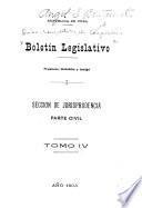 Boletín legislativo