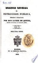Boletín oficial de instrucción pública